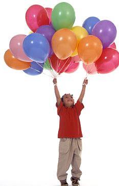 parti agencia sofia, балони с хелий
