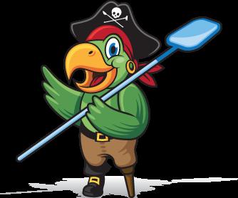 parti detski rojden den s pirati