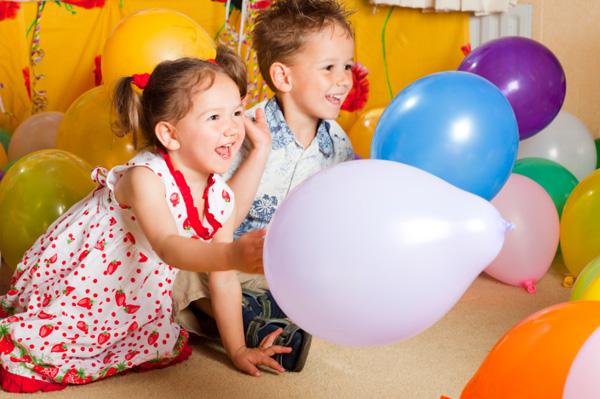 parti rojden den s baloni, парти за рожден ден с балони