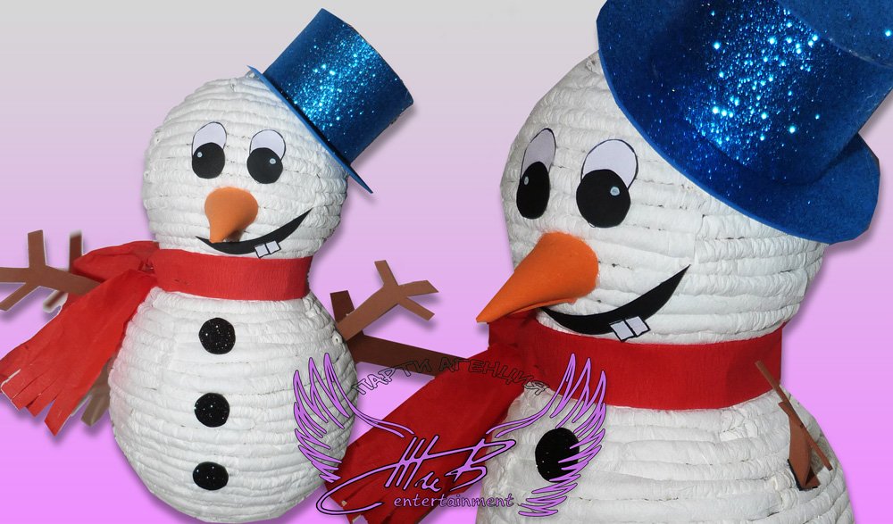 пинята снежен човек