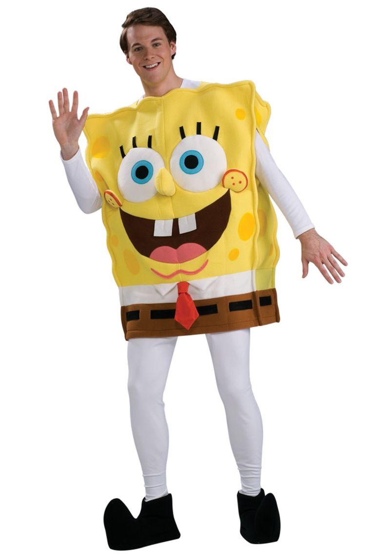 костюм на спондж боб
