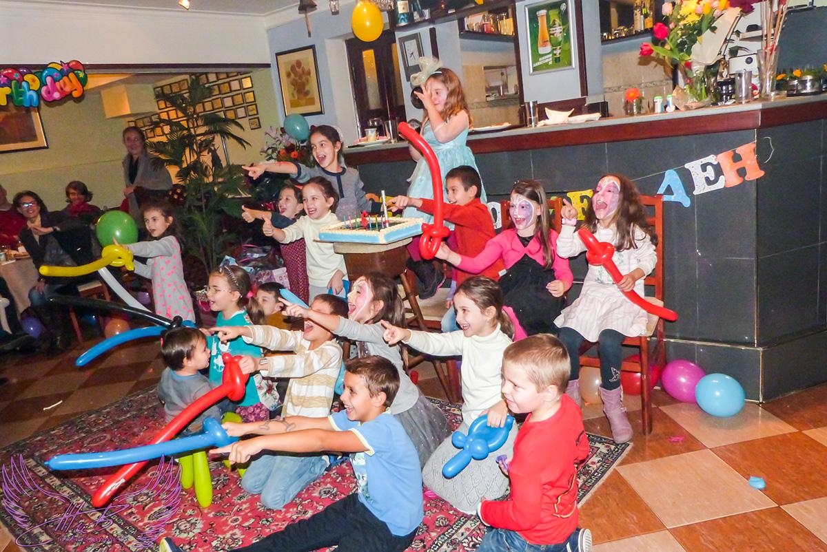 Детско парти Замръзналото кралство