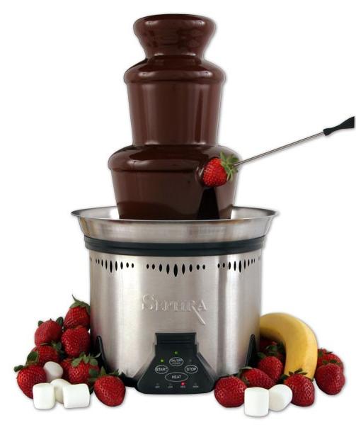шоколадов фонтан под наем