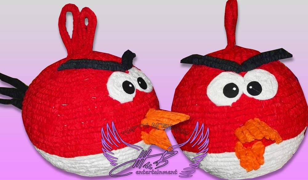 пинята angry birds